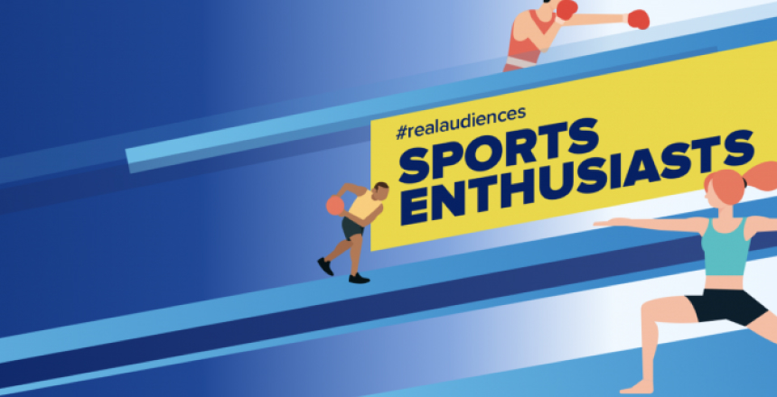 Targeting sports and fitness enthusiasts